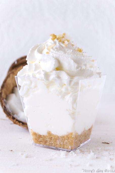 Coconut Mousse