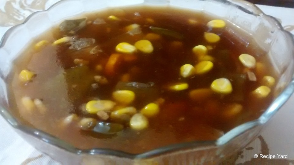 Corn & Veggies in Sweet-&-Sour Gravy