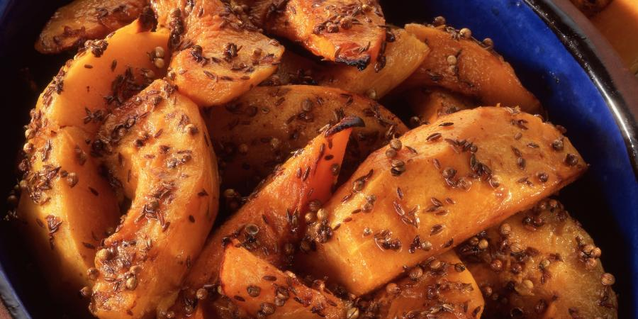 Pumpkin-wedges