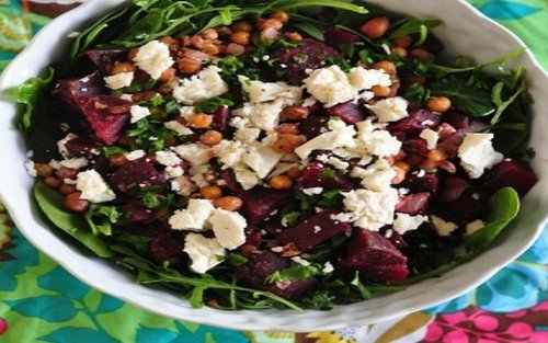 beetroot-chickpea-salad